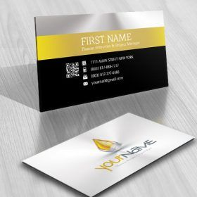 3d Drop Logo Logo Design Water Double Sided Business Cards Free Business Cards