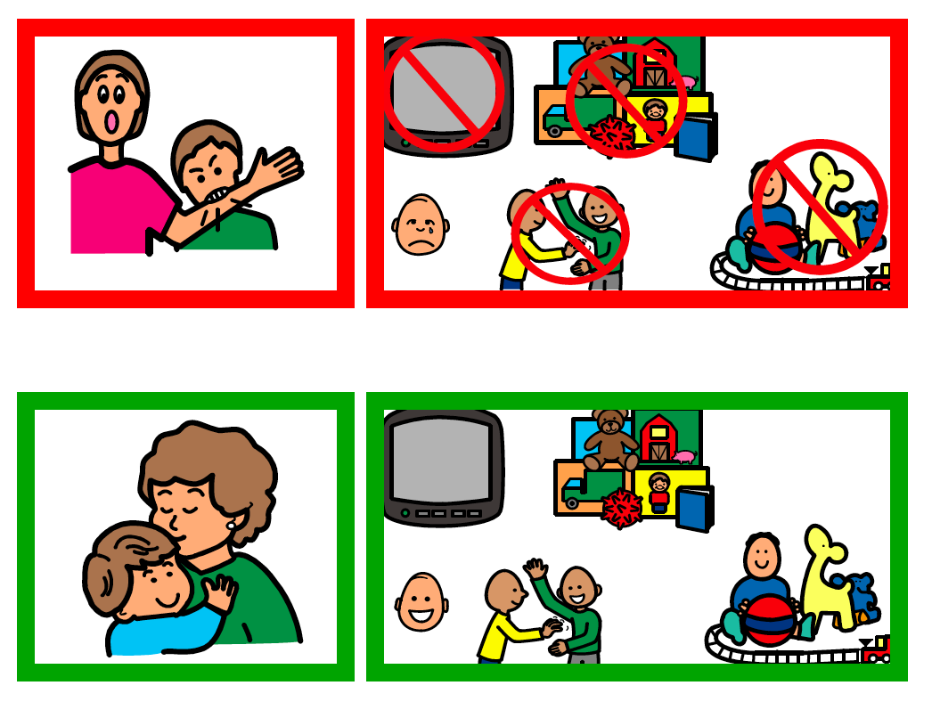 Great Visual Cues For All Sorts Of Behaviors Love This