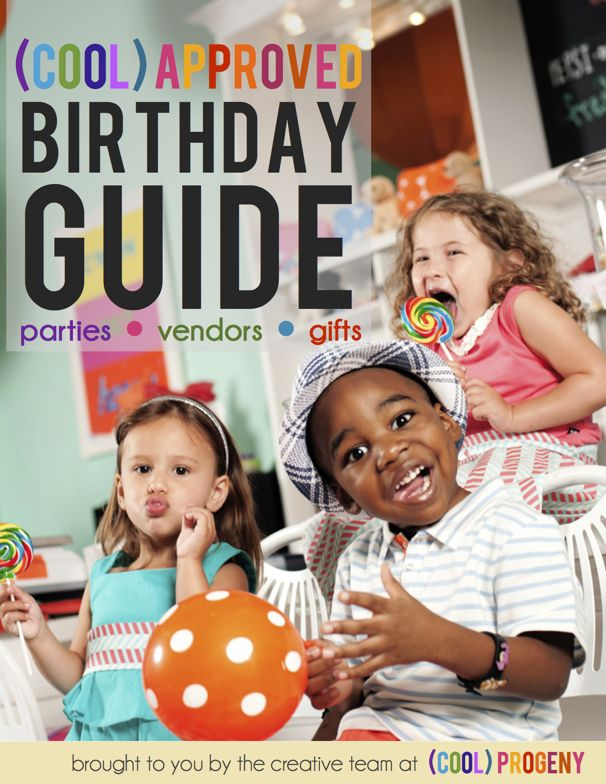Birthday Guide 2012 while it's geared towards Baltimore families, there are a ton of ideas that are applicable to any family