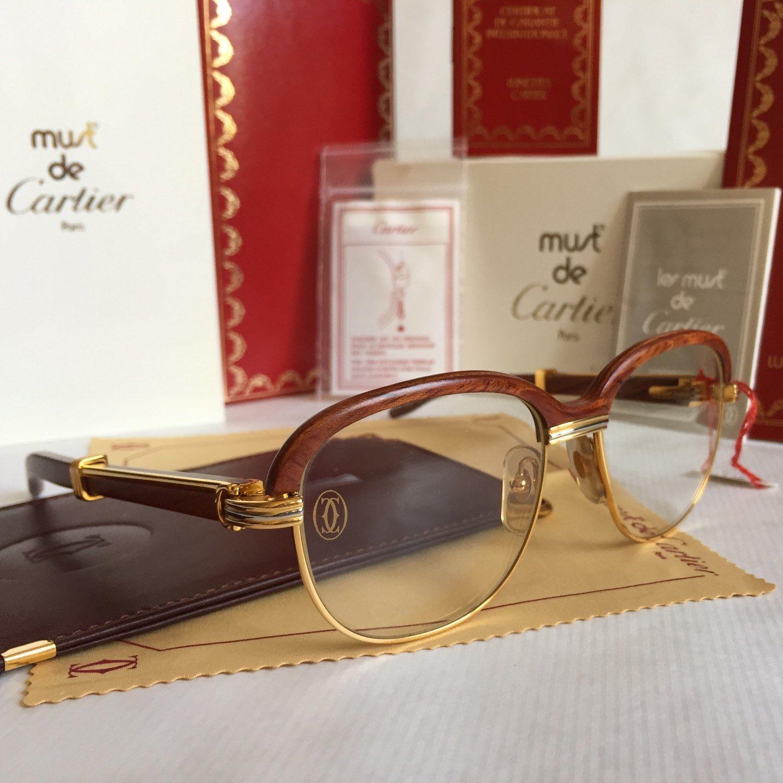 cartier vintage sonnenbrille
