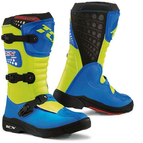 eBay Advertisement) TCX Kids Comp Motocross Dirt Boots Royal