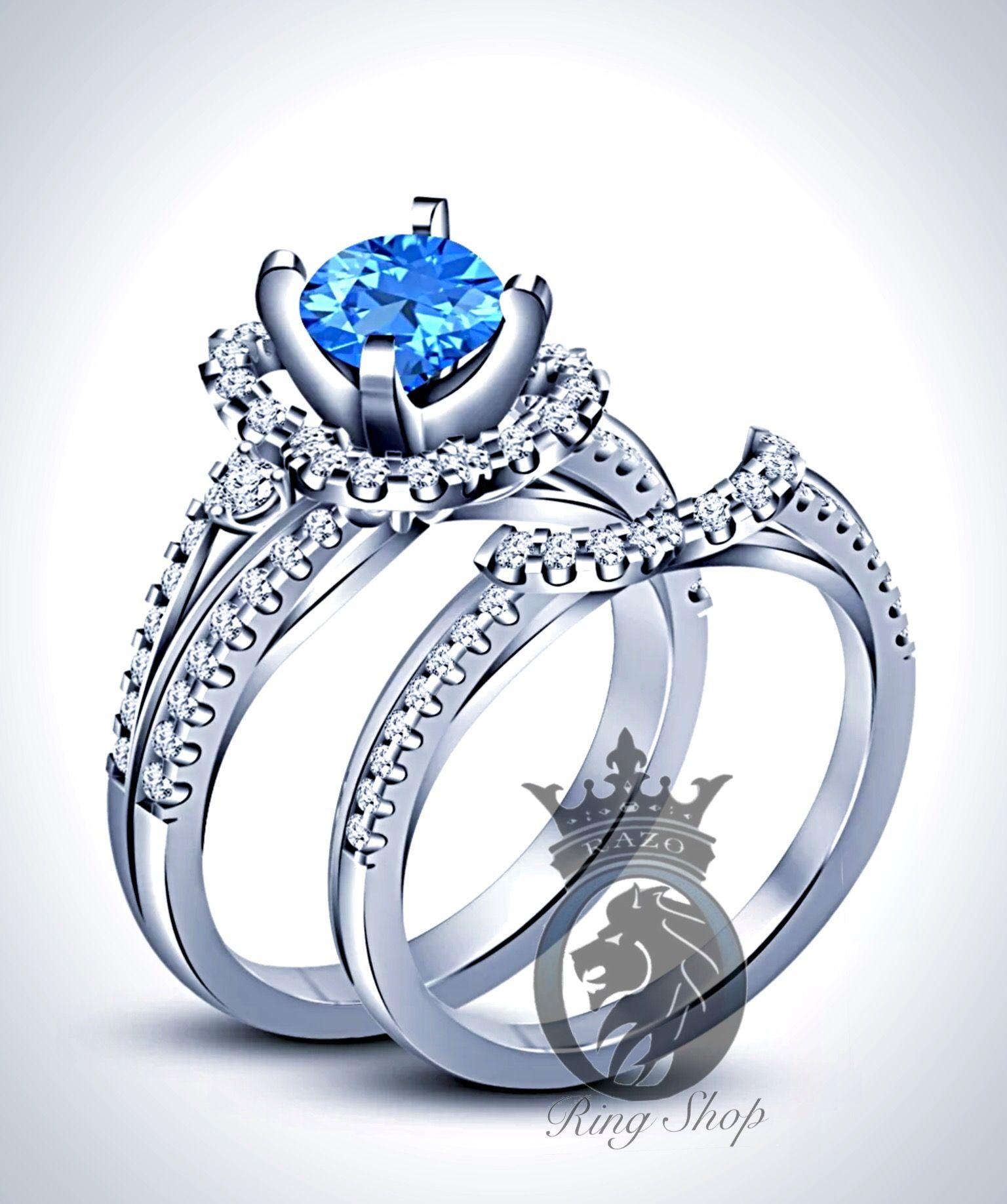 Disney Princess Cinderella Inspired Engagement Bridal Set Razos
