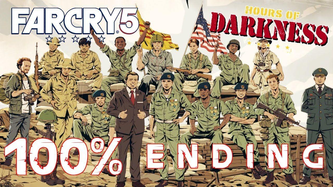 Far Cry 5 Hours Of Darkness Dlc 100 Completion Ending Survivor