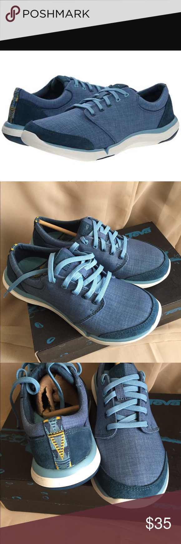 NEW TEVA TEVA wander lace. Legión blue Teva Shoes Athletic