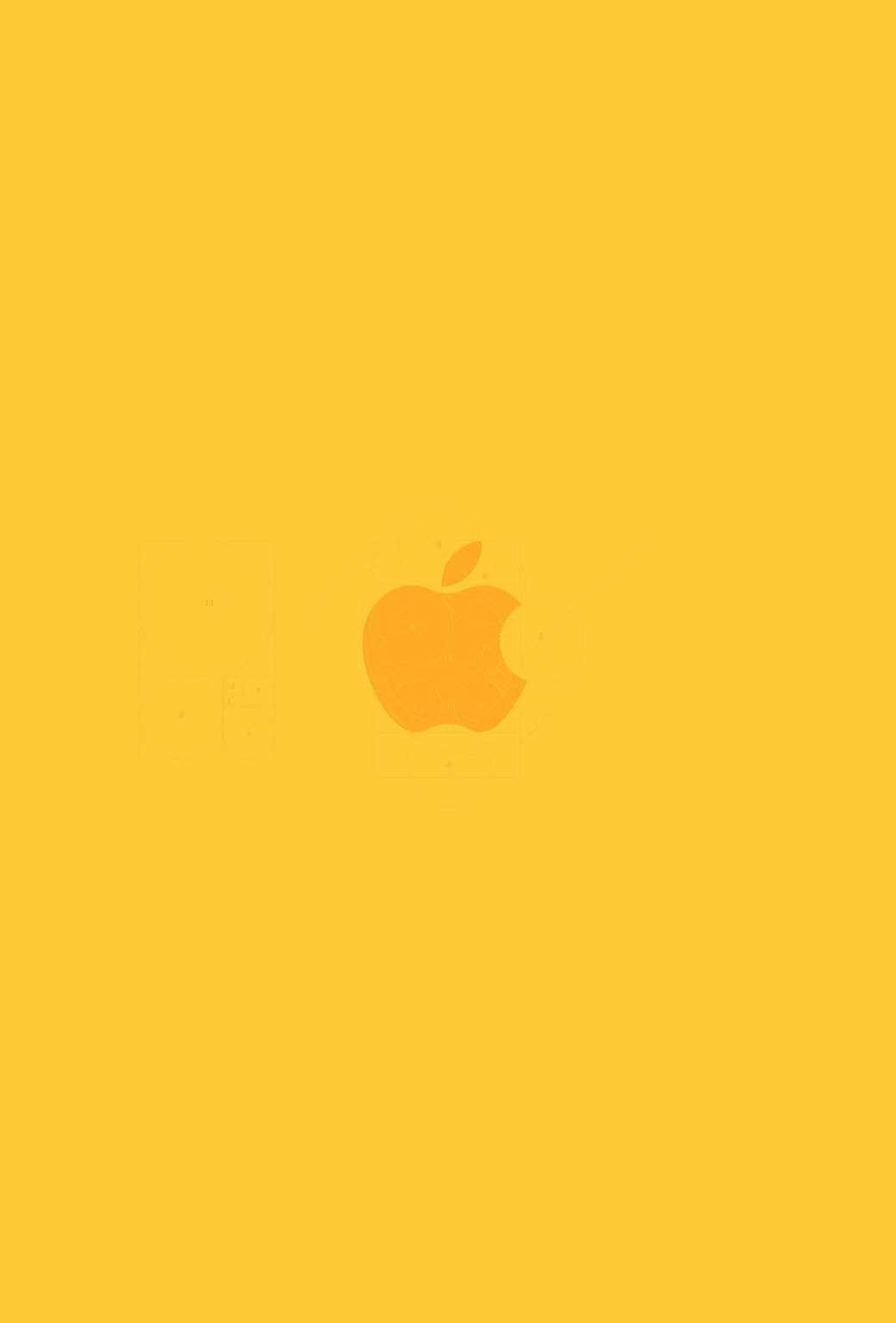 yellow wallpaper for iphone Bing images Apple Love