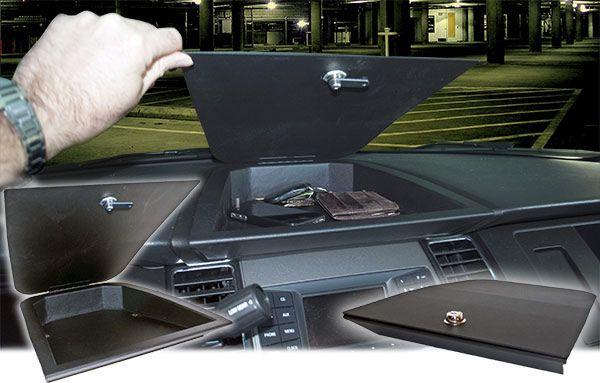 Jotto Desk Police Interceptor Sedan Dash Lock Box 425 3831 Lockbox Interceptor Sedan