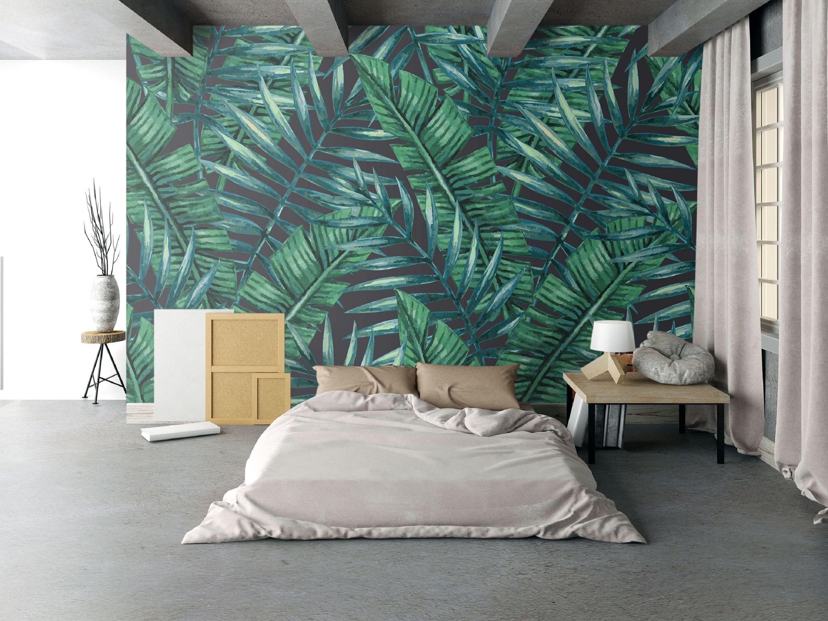 Tropikalna Sypialnia   Zobacz Więcej Inspiracji, Klikając Na Zdjęcie!  #sypialnia #wnętrza #