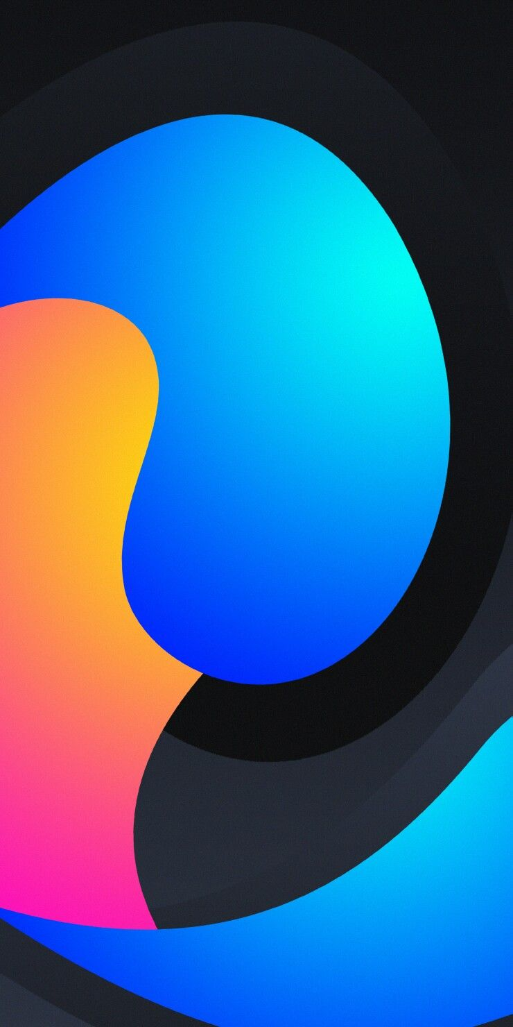 Abstract Swirl Wallpaper
