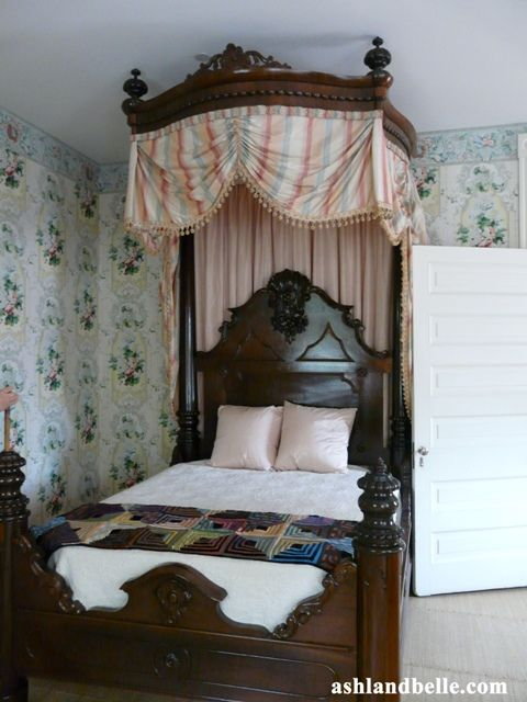 Beautiful Half Tester Bed Rosedown Plantation