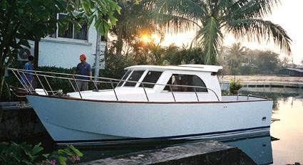 Fishing boats plans work boat plans STEEL KITS POWER, boat building, boatbuilding, boat plans ...