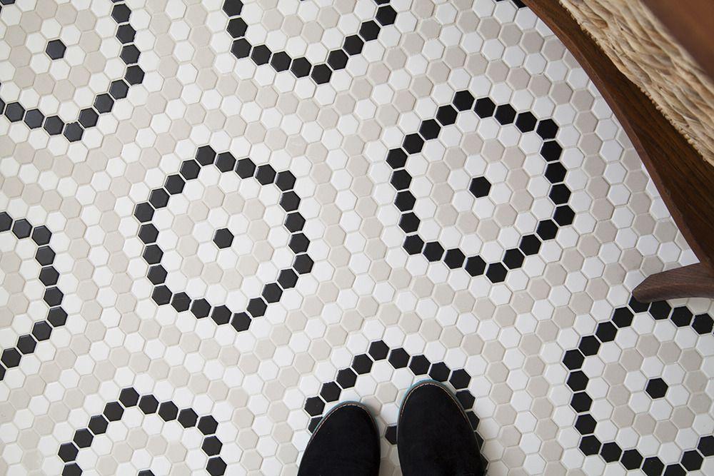 Budget-Friendly DIY Bathroom Redo | Bathroom floor tiles ...