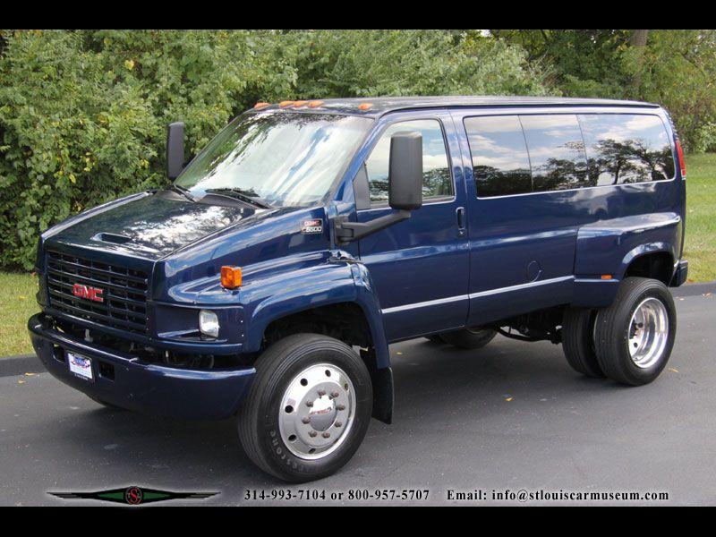 Gmc Other Gmc C5500 Topkick Van 4x4 Van Van Gmc Vans