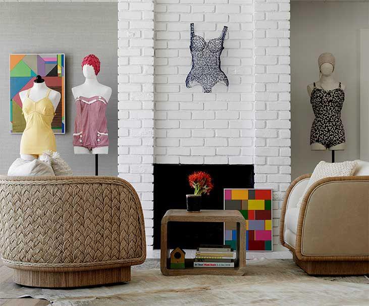 Laura Kirar braid chair | Mcguire furniture, Furniture ...