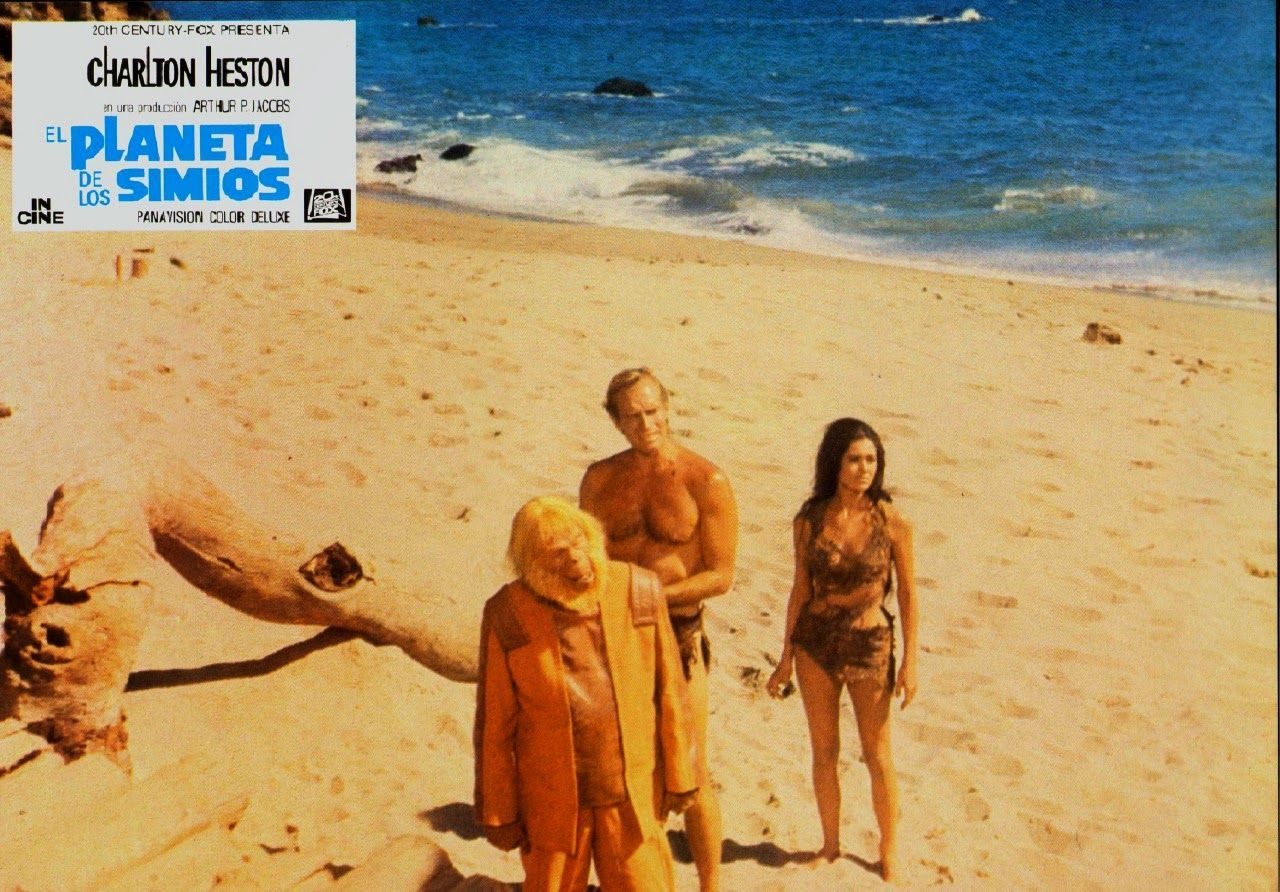 Planet Of The Apes 1968 Spanish Lobby Cards Planet Of The Apes Plant Of The Apes Apes