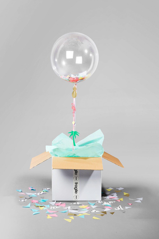 Balloon in a box balloon gift balloon box balloons
