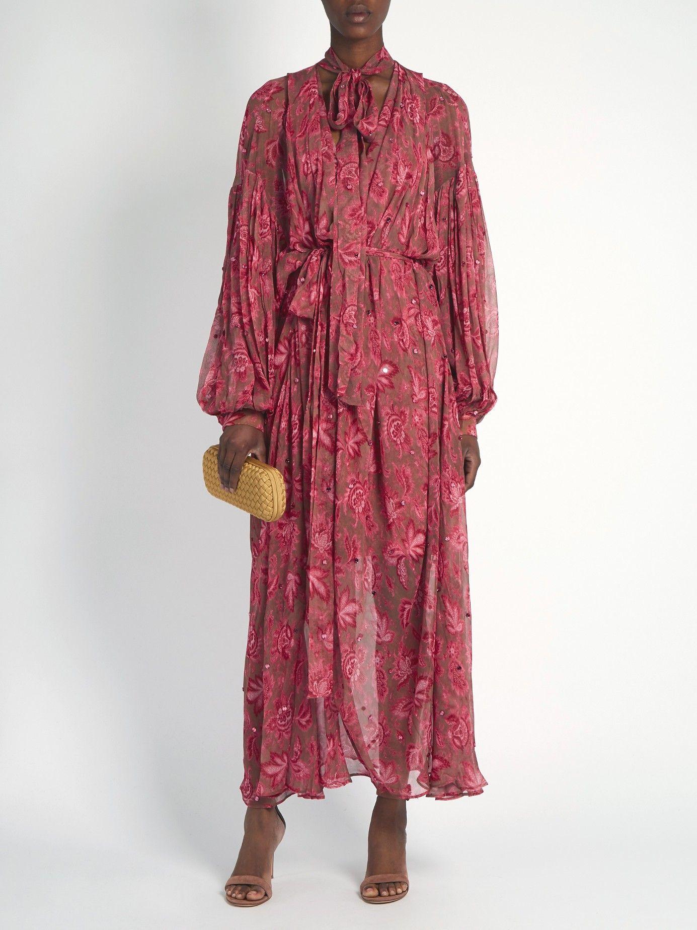 Karmic Chintz paisley-print dress   Zimmermann   MATCHESFASHION.COM