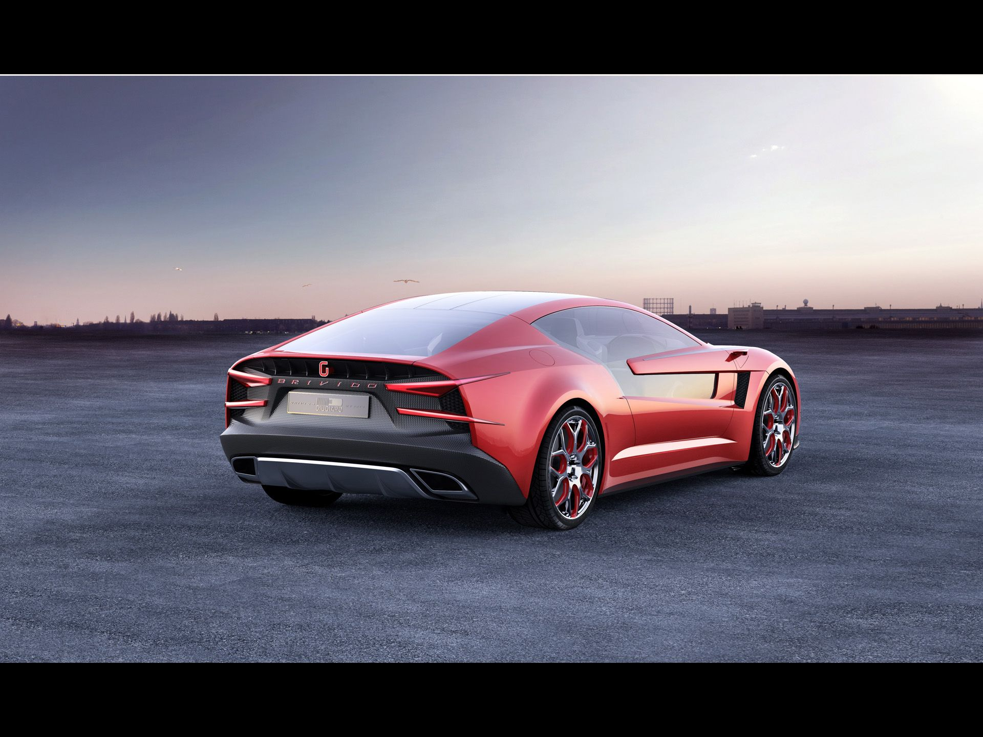 2012 Italdesign Giugiaro Brivido Concept What A Beaut Super Cars Affordable Sports Cars Cool Sports Cars