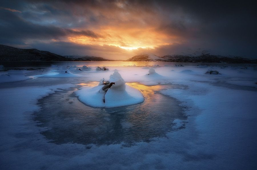 Photo Frozen Fjord by Arild Heitmann on 500px