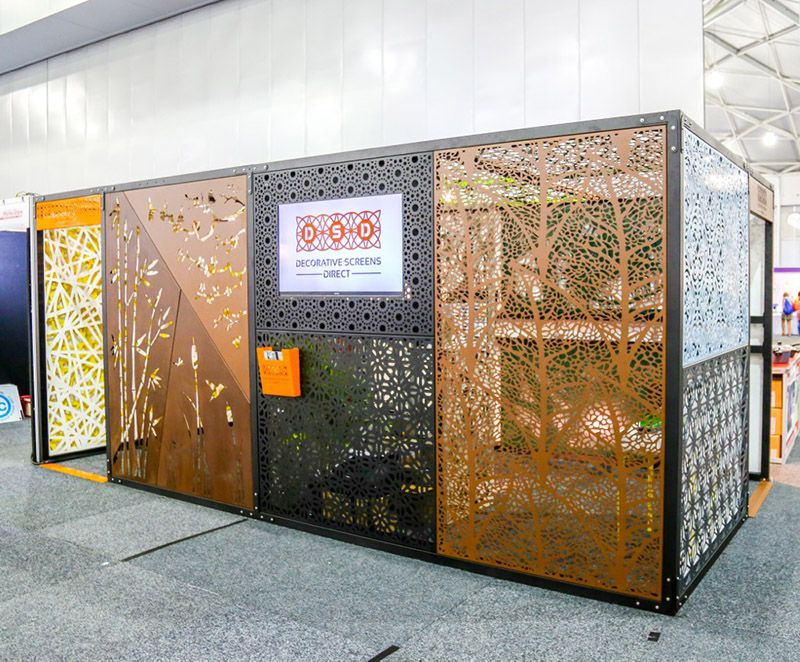 Laser cut decorative screens laser cut screens brisbane for Outdoor decorative screens