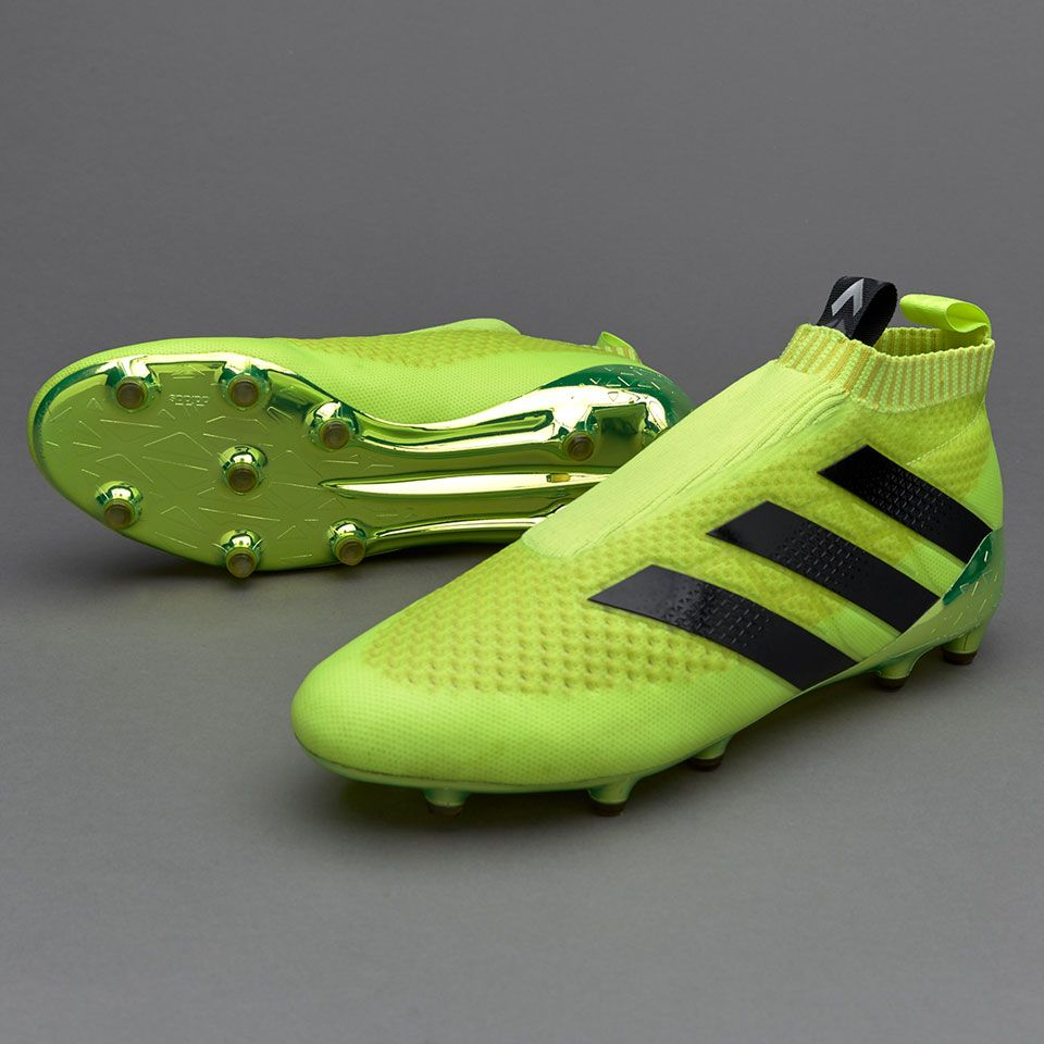 hot sales bbfc1 595b1 adidas ACE 16+ Purecontrol FG AG - Solar Yellow Core Black Silver Metallic