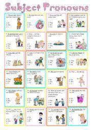 english worksheets subject pronouns sujintana object pronouns pronoun. Black Bedroom Furniture Sets. Home Design Ideas
