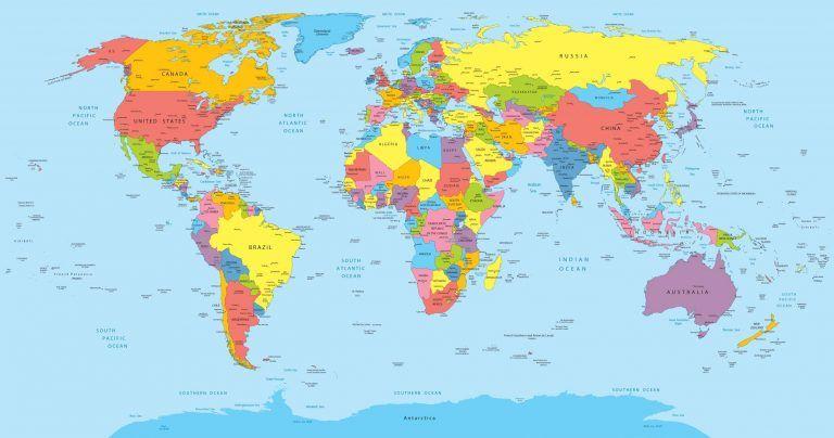 Carte Du Monde Carte Du Monde Fond D Ecran Carte Du Monde