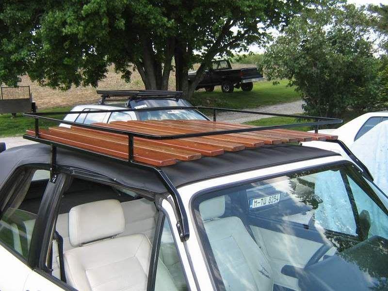 Just finished Cabriolet roof rack Car