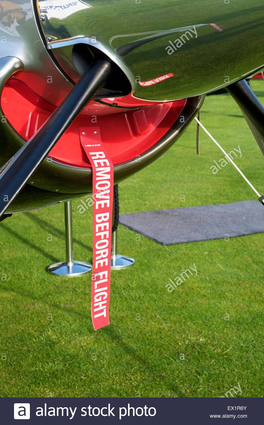 Disassembly Stock Photos Images Alamy Red Remove Before Flight Tag On Aircraft To Remind The Pilot Make Photo