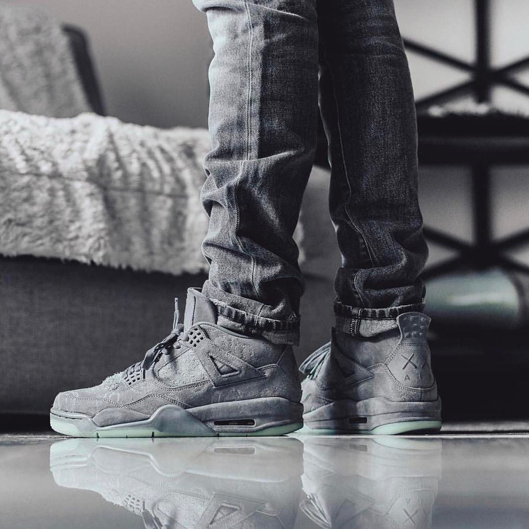 bf1263f2d4d028 NEW ARRIVALS   KAWS x Nike Air Jordan 4 in stock at kickbackzny.com ...