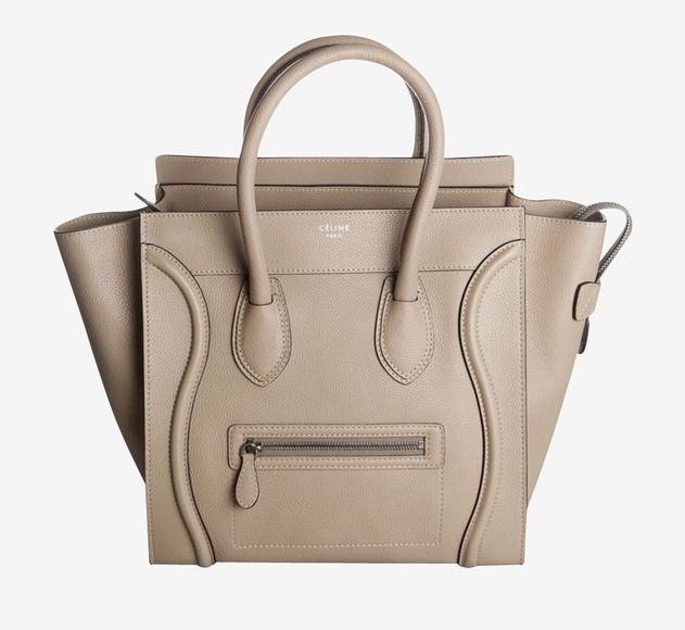 efed237f82ee Celine Mini Luggage Handbag- Dune.. I am in love with this bag and this  color!