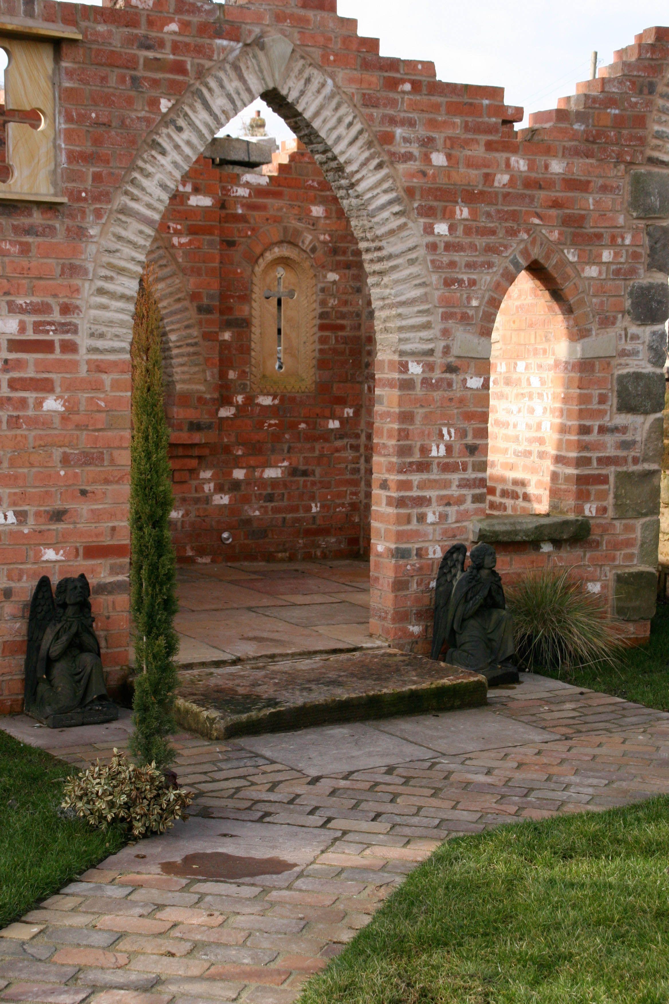 Garden folly brick pinterest gardens dream garden for Garden folly designs