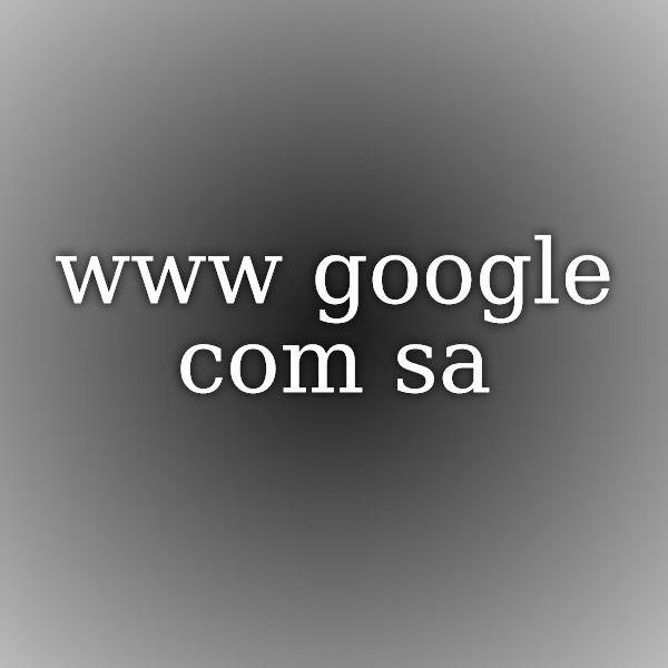 Www.googel.com sa