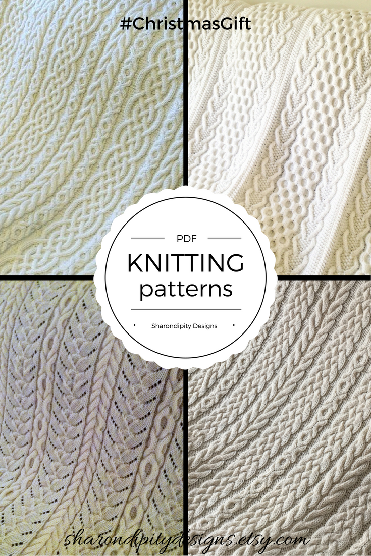 PDF Cable Knitting Patterns, Celtic Knitting Patterns, Irish ...