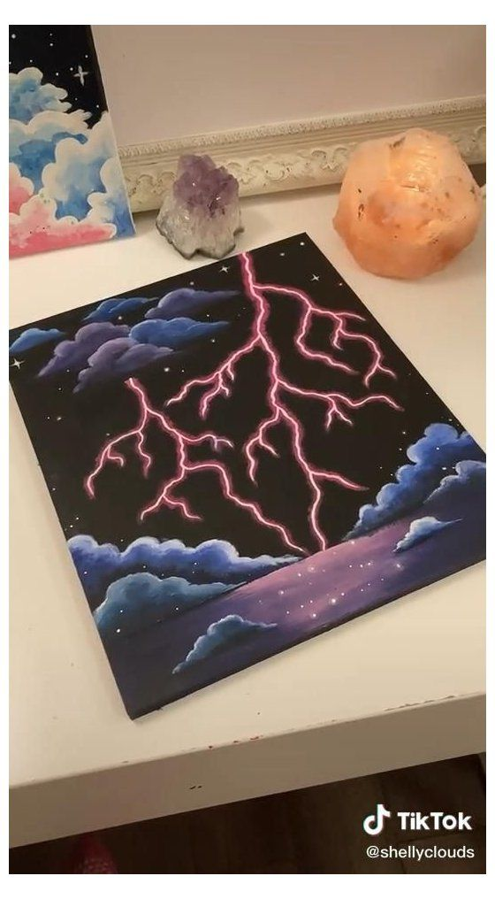 painting ideas on canvas aesthetic easy