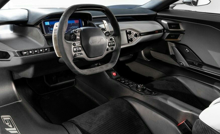 2017 ford gt interior luxury rides pinterest ford gt and ford. Black Bedroom Furniture Sets. Home Design Ideas