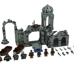 Battle Of Osgiliath In 2020 Cool Lego Lego Hobbit Lego Worlds