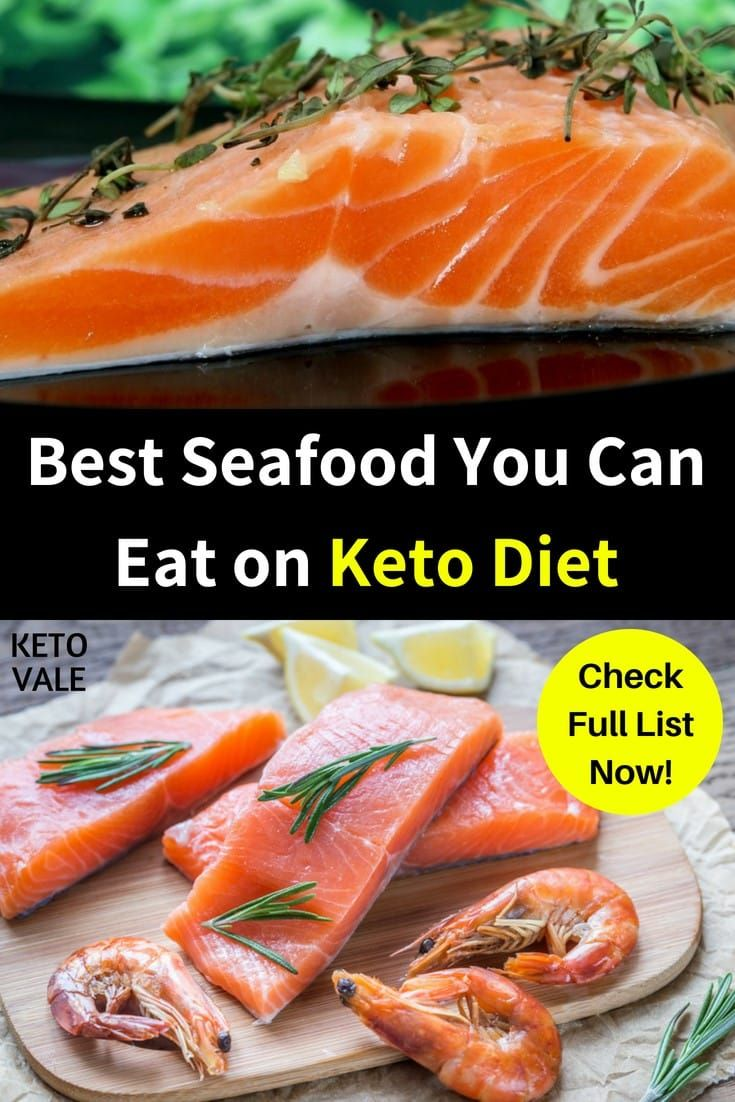 Best seafood you can eat on low carb ketogenic diet