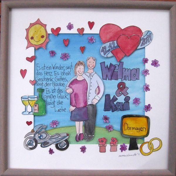 Weiteres - Hochzeitsgeschenk - ein Designerstück von marenschmidt bei DaWanda