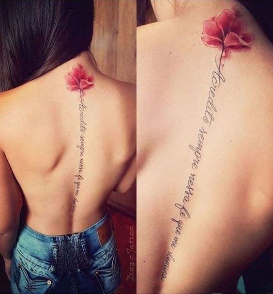 Photo of 50+ BACK TATTOOS FOR WOMEN – Page 53 of 54 – Monika