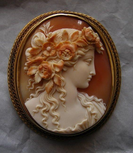 Antique Cameo Jewelry Cameos