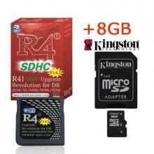 R4i-SDHC V1.4.4 with Kingston TF 8GB Card -Shipping:Free Shipping