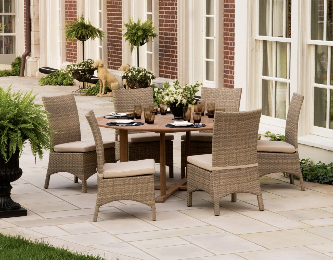Remarkable Patio Furniture Home Accessories With Outdoor Dining Set Wicker  Dining Chairs For Outdoor Furniture Repair