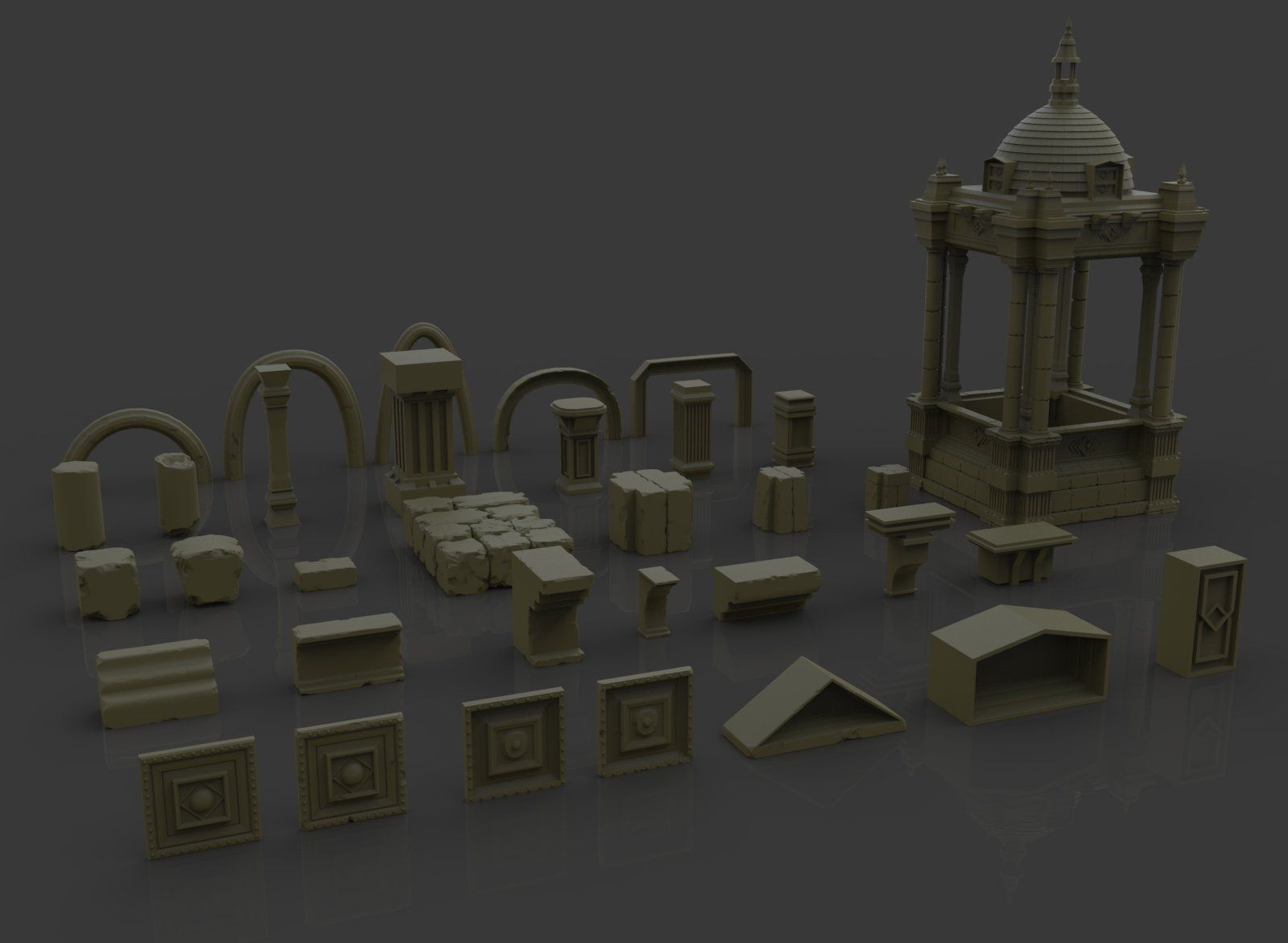 ArtStation - Architecture IMM Brush and ZTools, Ste Flack