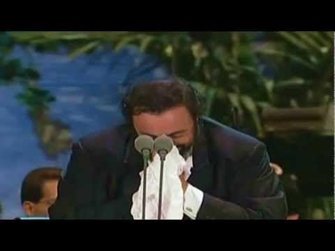 Luciano Pavarotti Ave Maria Los Angeles 1080phd Youtube