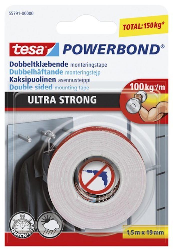 Tesa Powerbond Dobbeltklaebende Monterionstape Ultra Strong Kob Spejle Spejlskabe Online Silvan Spejlskabe Spejle Tapet