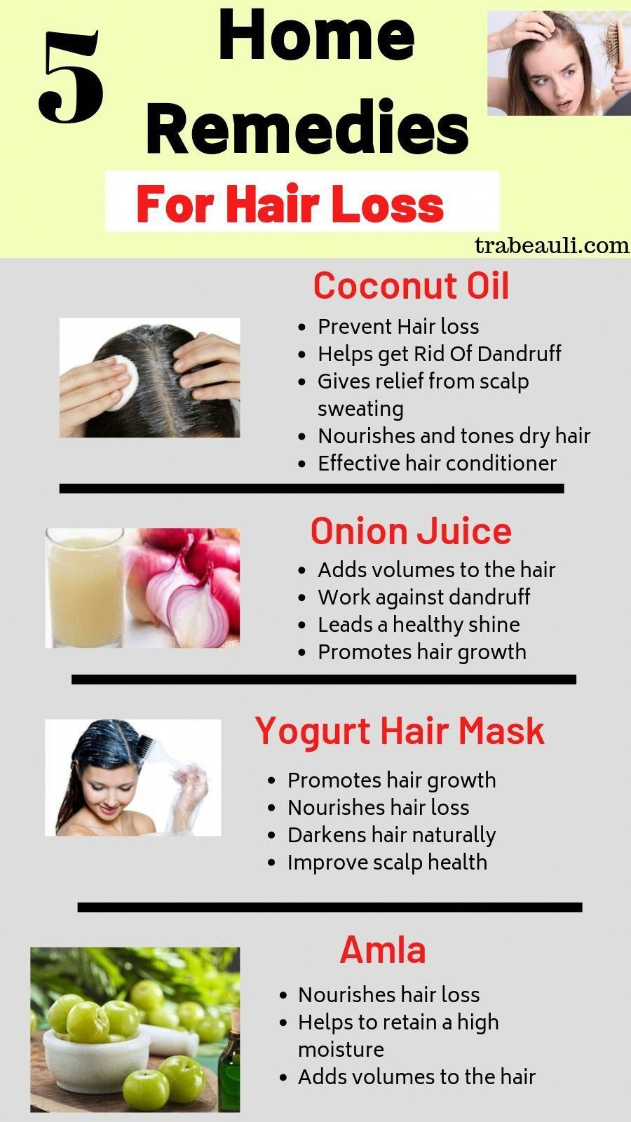 5 Natural Home Remedies To Stop Hair Loss At Home In 2020 Help Hair Loss Diy Hair Loss Treatment Hair Remedies For Growth