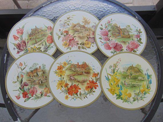 Pimpernel Collection traditionnelle sets de table Set de Six ...