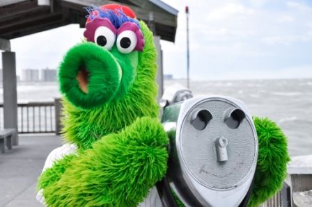 The Phanatic had some fun on Pier 60 in Clearwater! Tally Ho!