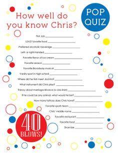 40 Blows GAME Questionnaire One Sheet Digital by PinkTexasPrint