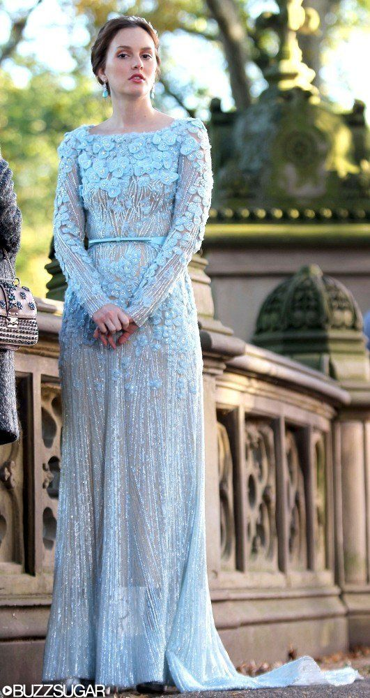 d2b77e365b6a A Gossip Girl Wedding  See Who s Getting Married in the Series Finale!  Leighton  Meester as Blair on Gossip Girl.